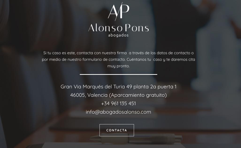 derecho penal contacto abogado valencia